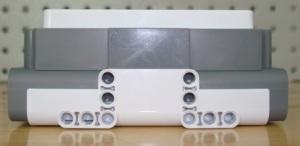 Ladrillo con batería instalada